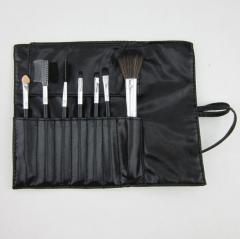 HN-7 piece/Set New Fashion Cosmetic tools Eyelash brush make up Bags Women Jewellery Beautiful GIfts Black