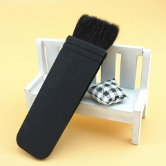 HN-1 piece/Set New Women NARS Flat cosmetic brush 100% wool professional beauty Make up tools Bags black