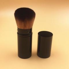 HN-1 piece/Set New Fashion Mini Nylon Telescopic cosmetic brush Women Beauty Makeup tools Bags Gifts black