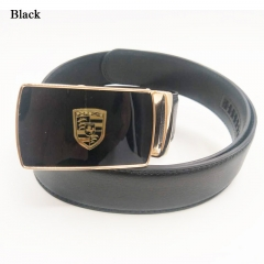 Cross Aolly Automatic Buckle Men Belt Genuine Leather Belt black 115cm