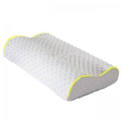 low Rebound Health Care Memory Foam Pillow Memory Foam Pillow Support The Neck Fatigue Relief WHITT 50*30CM