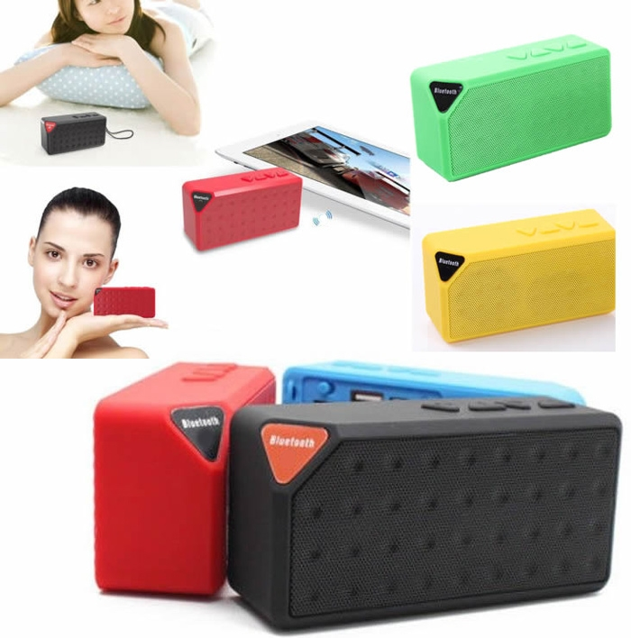 Bluetooth Speakers Wireless Bluetooth Speaker Mini Portable Magic Cube Bluetooth Speaker Bass blue normal 16