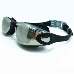 Professional Swimming Goggle Glasses Black One size