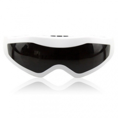 Electronic Vibration Eye Massager, prevent myopia, Promote blood circulation, Relax the brain Black+White