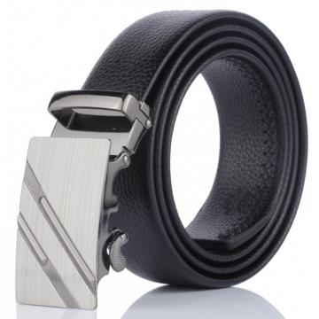 belt promotion ceinture dnuxlou mens belts luxury faux leather belt for men trouser Black Normal