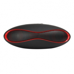 Mini Speaker Wireless Bluetooth Speakers Olives Shaped Portable Outdoor Mini Loudspeaker Speaker BLACK