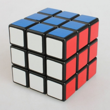 3X3X3 Professional Speed Cube Puzzle Stickers Kids Brain Teaser Cubo Magico Toys Children funny gift As photo normal