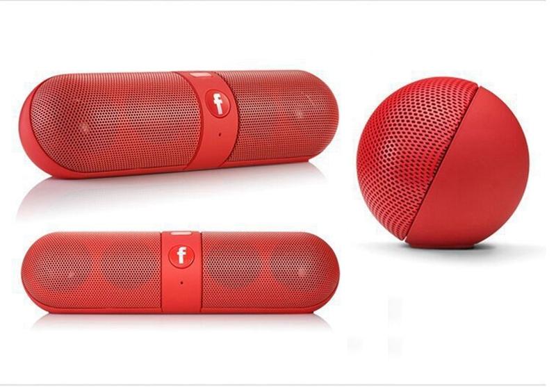 Kill Price-Portable Capsule Wireless Stereo HIFI Bluetooth Speaker black one size 8