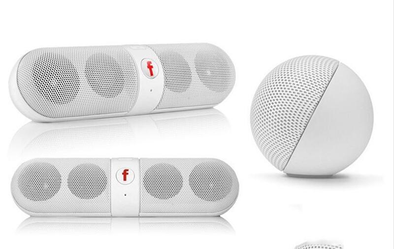 Kill Price-Portable Capsule Wireless Stereo HIFI Bluetooth Speaker black one size 9