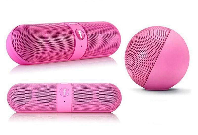 Kill Price-Portable Capsule Wireless Stereo HIFI Bluetooth Speaker black one size 10
