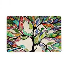 Tree of life Indoor Doormat for Bathroom Kitchen Decor Rug Mat As Picture Show 23.6