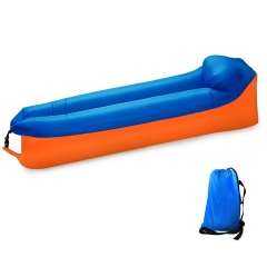 Inflatable Lounger, Air sofa, Fast Inflate by Wind or Air Pump, Waterproof Air Bag Chair Sofa As Picture Show