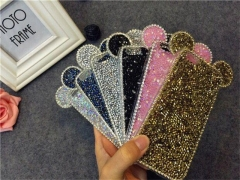 Techjumbo Fashion Phone Cases Bling iphone Phone Covers  for iphone6, 6S,6/6S plus, 7, 7 plus pink 7+