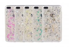 Techjumbo Fashion Covers Bling Clear Phone Case PC Cases for iphone6, 6plus, 7, 7 plus green 7+