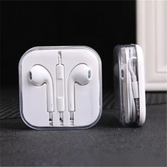 Earbuds, Earphones, Headset with Mic and remote for Iphone, Ipad,and Android smartphones white