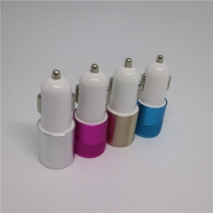 Smart Dual 2 USB Quick Car Charger Compatable with iPhone,Tablet, Samsung Galaxy, HTC, LG, Nokia blue normal