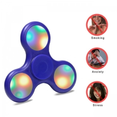 Premium fidget spinner with 9 motion activated LED for Adults & Kids pink normal