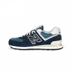 Classical NB 574 Series Primary Colors Men Shoes Retro Running Shoes Sports Shoes navy blue 36