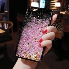 Luxury Phone Case For iPhone 6 6S Plus 7 7 Plus Liquid Glitter Quicksand Soft Cover 6S 7 Plus Coque Pink For iPhone 6 6s