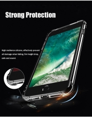 Case For iPhone 5 5S SE 6 6S 7 Cover Shockproof Soft TPU Case For iPhone SE 6 6S Plus 7 Plus Coques clear for iphone 7