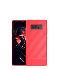 Note 8 Case Shockproof Soft TPU Case For Samsung Galaxy Note 8 S8 S8 Plus Case Carbon Fiber Cover red For Samsung Note 8