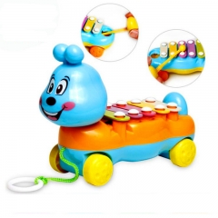 Toys for kids colorful hand piano children toys early learning instruments puzzle music baby toys random one packing size