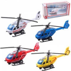 Children toys alloy pull back helicopter kids toys aviation military model baby toys random one packing size