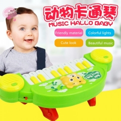 Children music toy rainbow piano toy educational toy for kids baby play toys random one size