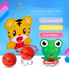 Children cartoon toys basketball racks indoor boys kids baby outdoor toys Random One size