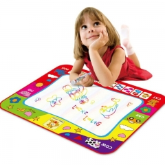 Big size 60*80cm Childrens Kids Magnetic Drawing Board Toy Sketch Pad Writing Craft drawing blanket random one size