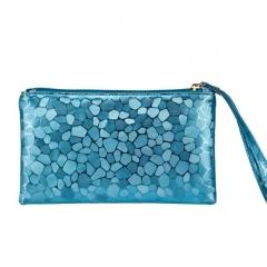 6 Colors women handbag ladies wallet bag fashion brand bags Blue 19*11*2cm