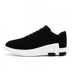 2017 new arrival Fashion Men Casual Shoes High Quality lace on Shoes For Men male shoe black 39