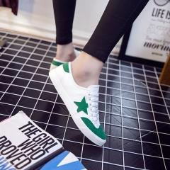 Brand Canvas Shoes Women Soft Footwear Classic Shoes Women  Autumn Outdoor Breathable Walk Shoe green 35