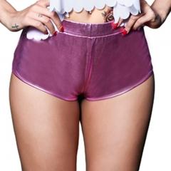 Beauty Garden New Fashion Women Sexy Club Shorts Vintage Summer Autumn Mini Skinny Casual Shorts Pink M