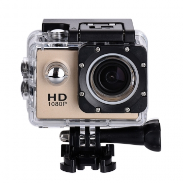Upgraded Ver. Diving Camera 30M Waterproof HD Outdoor 1080P Full DV Sport camera Like GoPro GW4000 Gold 2.0 inch screen