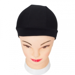 Hair Net Wig Liner Cheap Wig Caps For Making Wigs Spandex Net Elastic Dome Wig Cap balck one size
