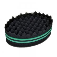 New Fashion Hair Braider Twist Sponge Fir Afro Dreadlocks Curl Brush Sponge Hair Braiders Tool green one size