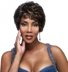 European and American Fashion Wigs Short Volume Selling Costume Wigs as the picture one size
