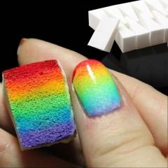10Pcs/Pack Nail Art Decorations Sponge Stamping Polish Transfer Manicure Nail Art Stamp Tool white one size