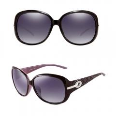 Vintage Women Fashion Sunglasses Retro Glasses purple 001