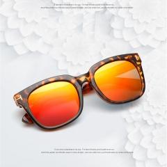 Classic Women Men Polarized Sunglasses orange 005