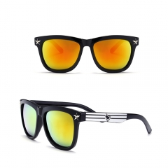 Fashion Warfarer Sunglasses for Women Double Color with UV400 sunglasses orange 5102