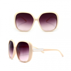 Oversized Sunglasses Womens Classic ROUND CELEBRITY PRIVACY Shades NEW orange 5110