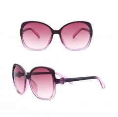 Super Oversized Sunglasses Unisex Flat Top Square Frame Fashion Wear purple 001