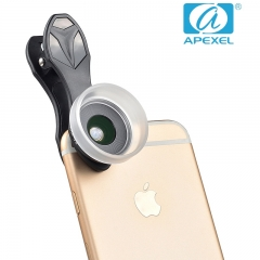 APEXEL phone lens ML35 Macro lens No distortion No dark Angle common external camera black 105*70*40mm