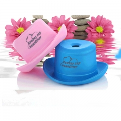 A cowboy hat USB charging mini bottle cap humidifier Household atomized small humidifier pink pink