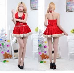 The latest new adult women's costumes for Christmas wear Sexy clothes Role play gules the average yards