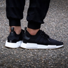 The NMD running shoes are popular for women's shoes black 39