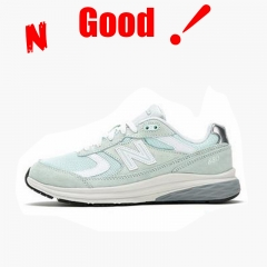 N popular hip hop 880 series women's shoe sports shoes green 36