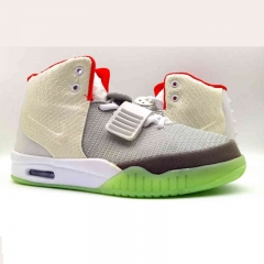 Tidal current sizes west basketball shoes Yeezy2 street dancing shoes cushioning and cushioning AIR gray 39